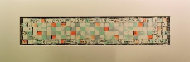 """Babylon"" by artist Emily Shane, 8"" h x 21"" w"