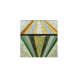 """Diamond Eye"" by artist Emily Shane, 6 3/8"" square"