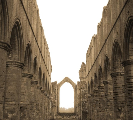 """Fountains Abbey"" by Emily Shane!"