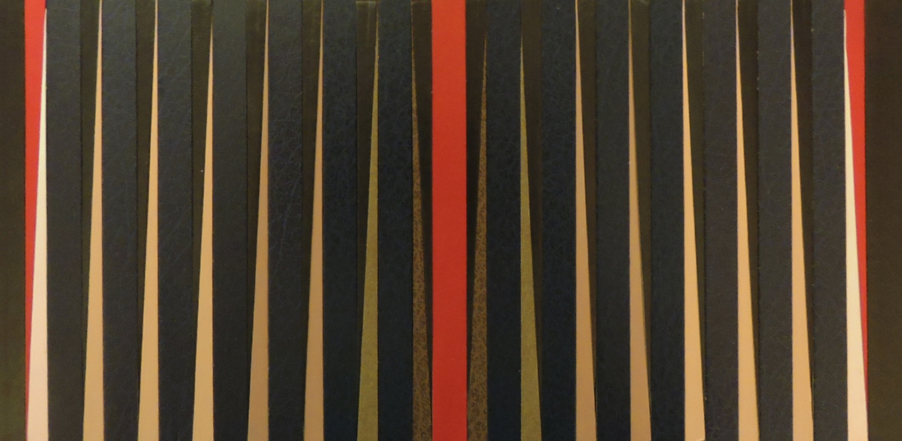 """""""Red Gate"""" by artist Emily Shane"""