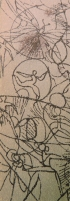Spooky Scribbles DETAIL: human figures - Emily Shane