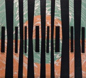 """Black Keys"" by artist Emily Shane"